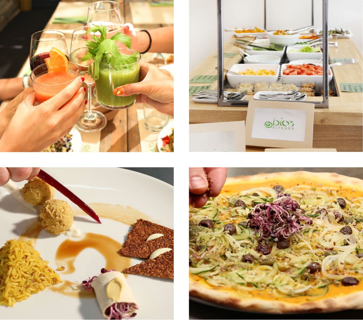 Bio's Kitchen - concezione di ristorazione 100% BIO